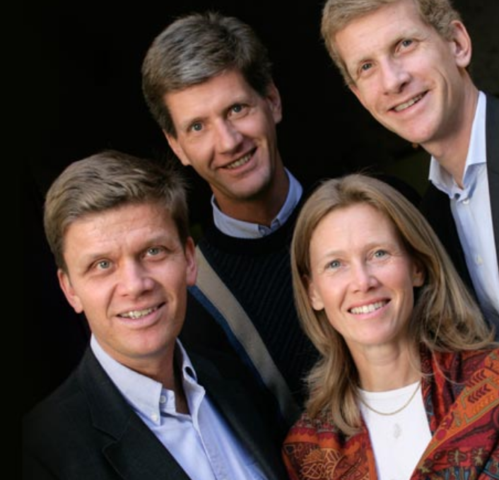 Frédéric, Philippe, Laurent et Véronique Drouhin