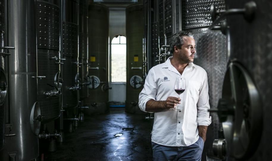 Winemaker William Wilkinson - Le Bonheur