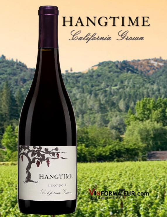 Hangtime, Pinot Noir, Californie, Folio Fine Wines Partners, 2018