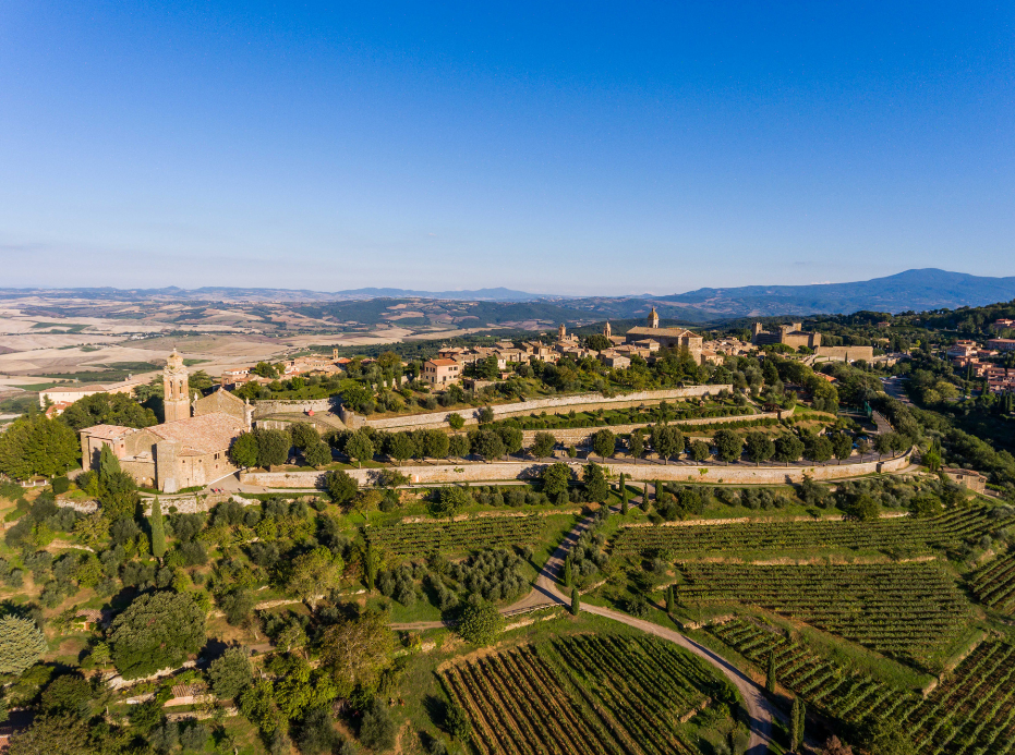 Ville de Montalcino