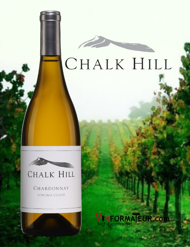 Chalk Hill, Chardonnay, Sonoma Coast, Californie, 2018