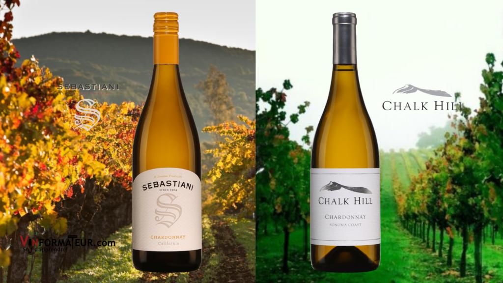 Sebastiani Chardonnay 2018, Chalk Hill Chardonnay 2018