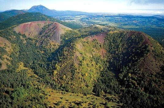 Volcans de l'Auvergne