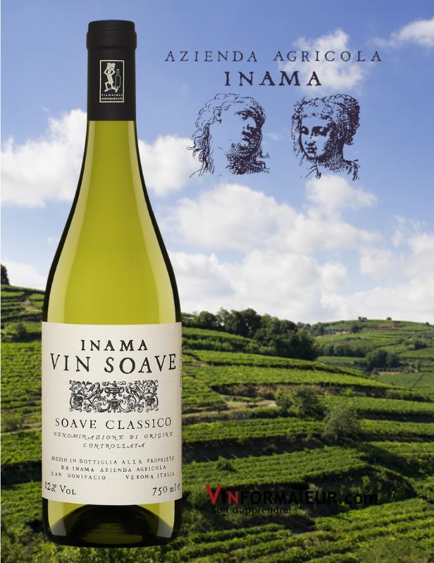 Inama, Soave Classico DOC, Italie, Vénétie, Azienda Agricola Inama, 2019