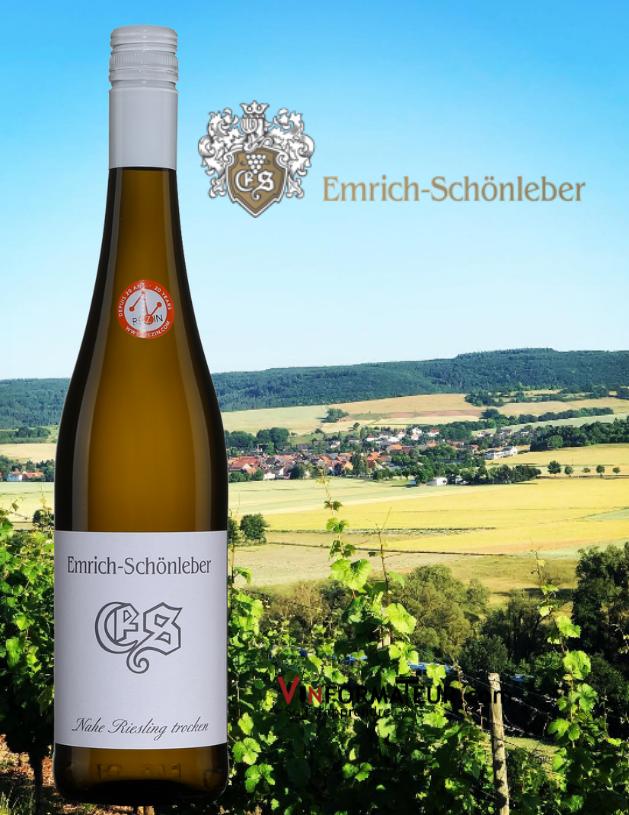 Weingut Emrich-Schönleber, Trocken, Riesling, Allemagne, Nahe, 2019