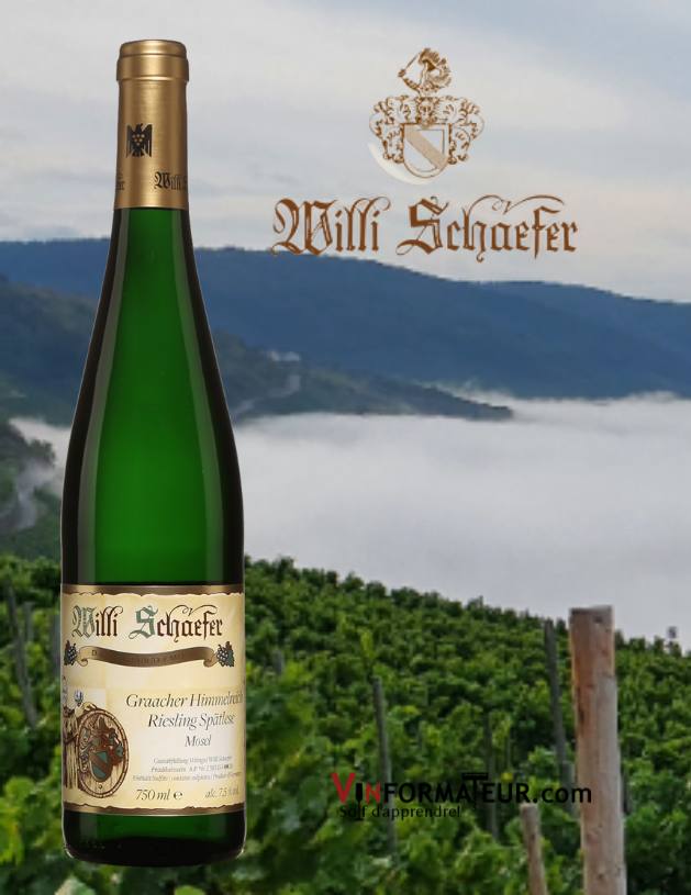 Willi Schaefer, Graacher Himmelreich, Riesling, Spätlese, Allemagne, Mosel, 2019