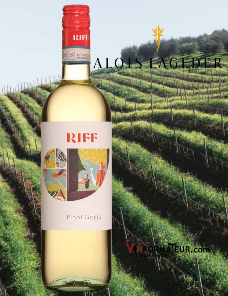 Pinot Grigio, Riff, Italie, Vénétie, Delle Venezie, Alois Lageder, 2019