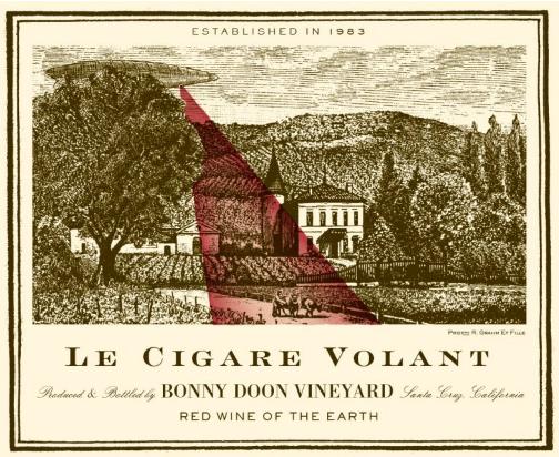 Étiquette du Cigare Volant