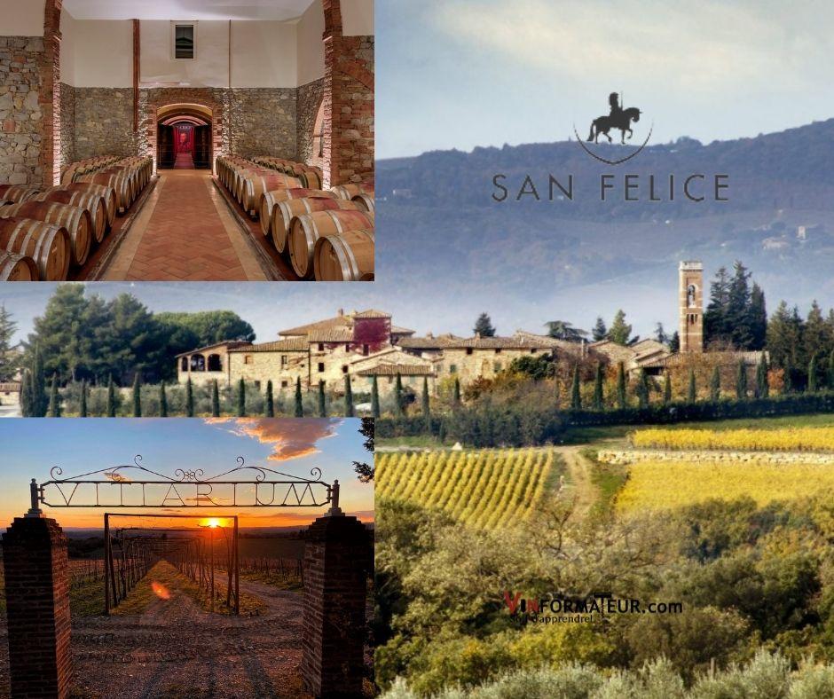Agricola San Felice, chai, vitiarium et vignobles
