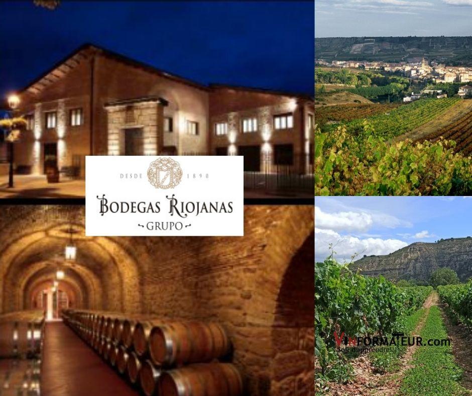 Bodegas Riojanas, vignobles et chai