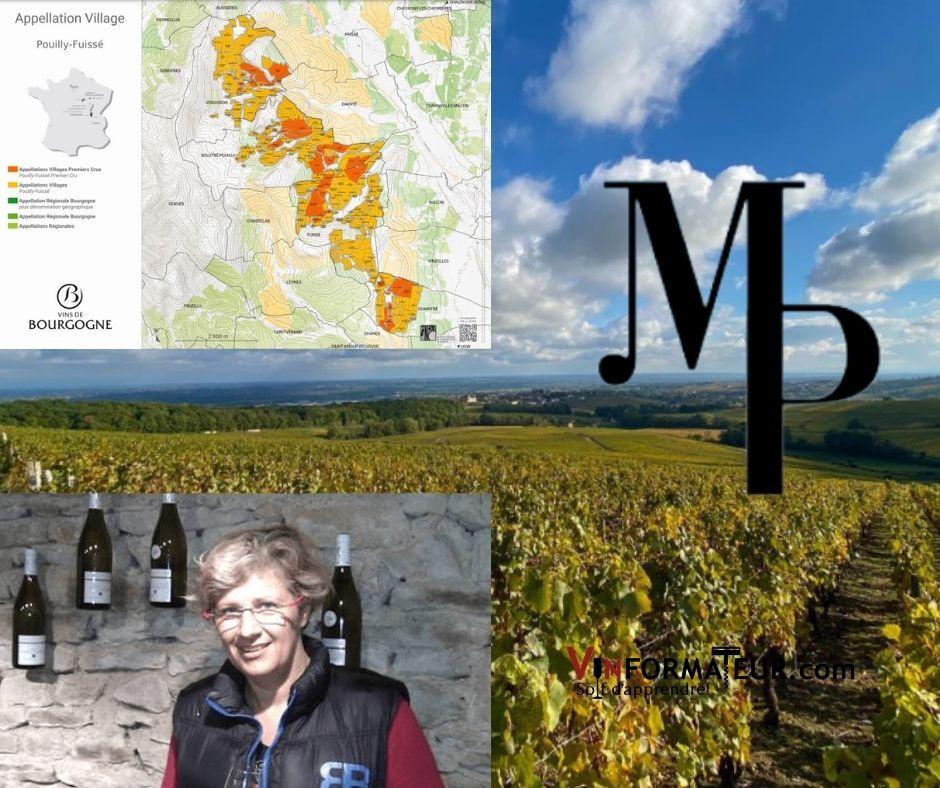 Domaine Manciat-Poncet, propriétaire et certe viticole Pouilly-Fuissé