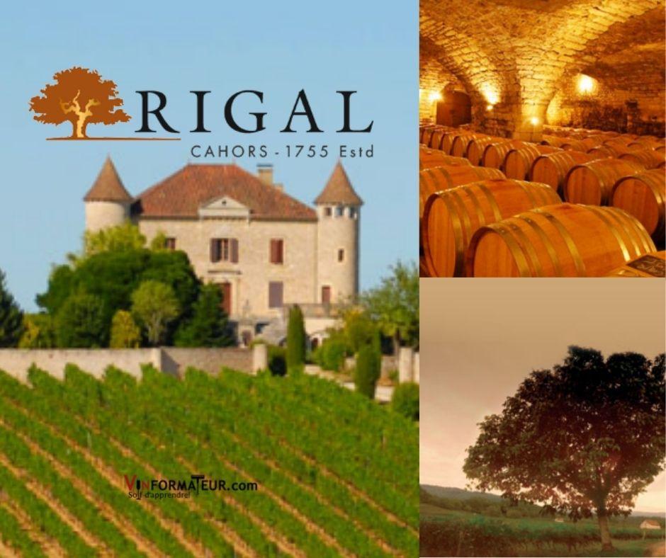 Rigal, château de Chambert, chai et vignobles
