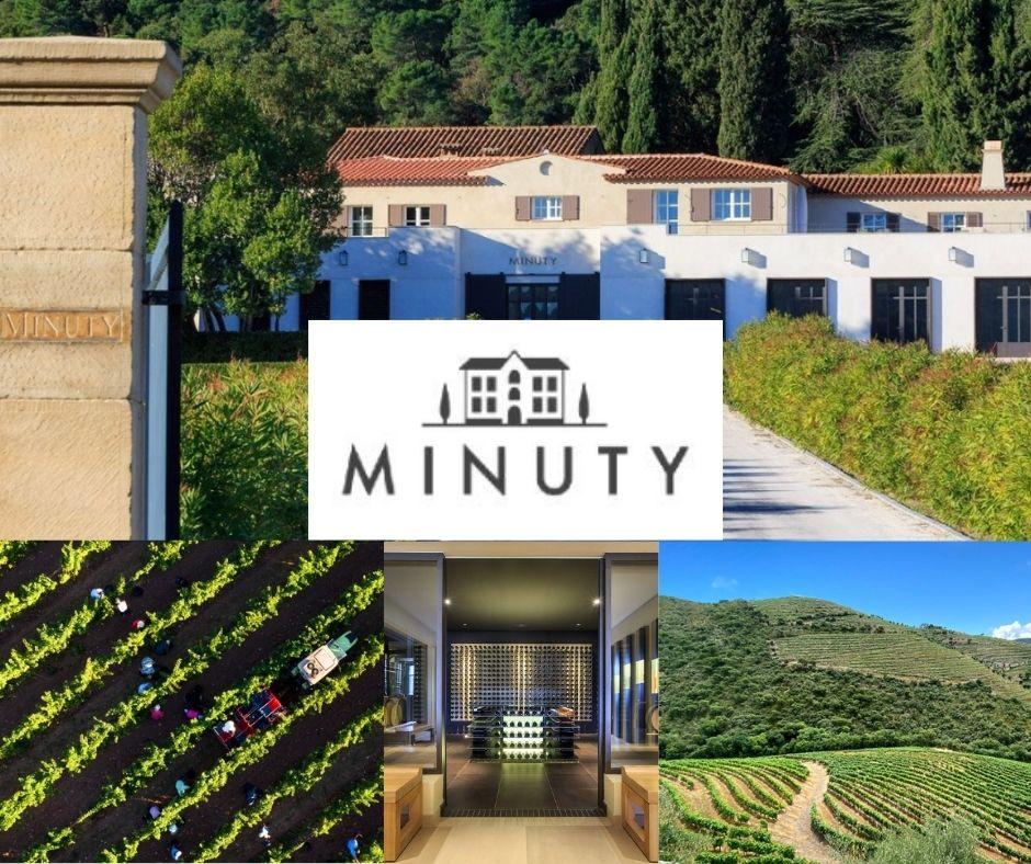 Château Minuty, chai, vignobles, château