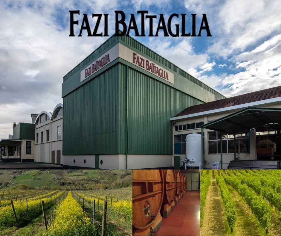 Fazi Battaglia, chai, vignobles