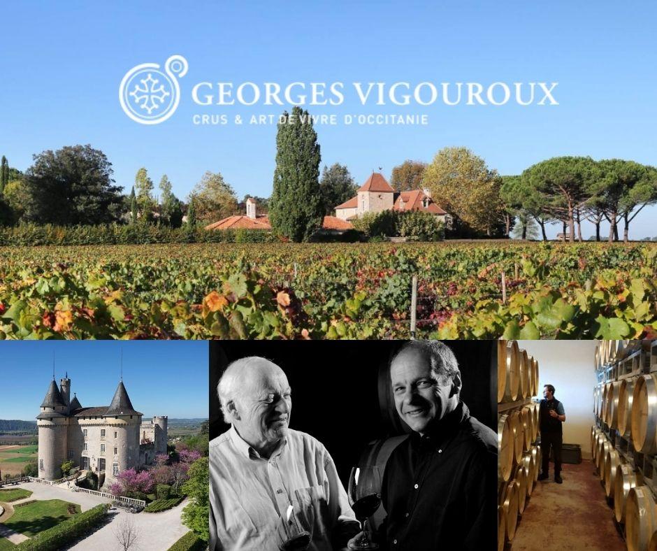 George Vigouroux, famille Vigouroux, château Mercuez, chai, vignobles