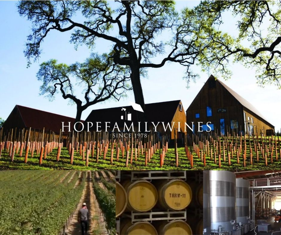 Hope Family Wines, chai, vignobles