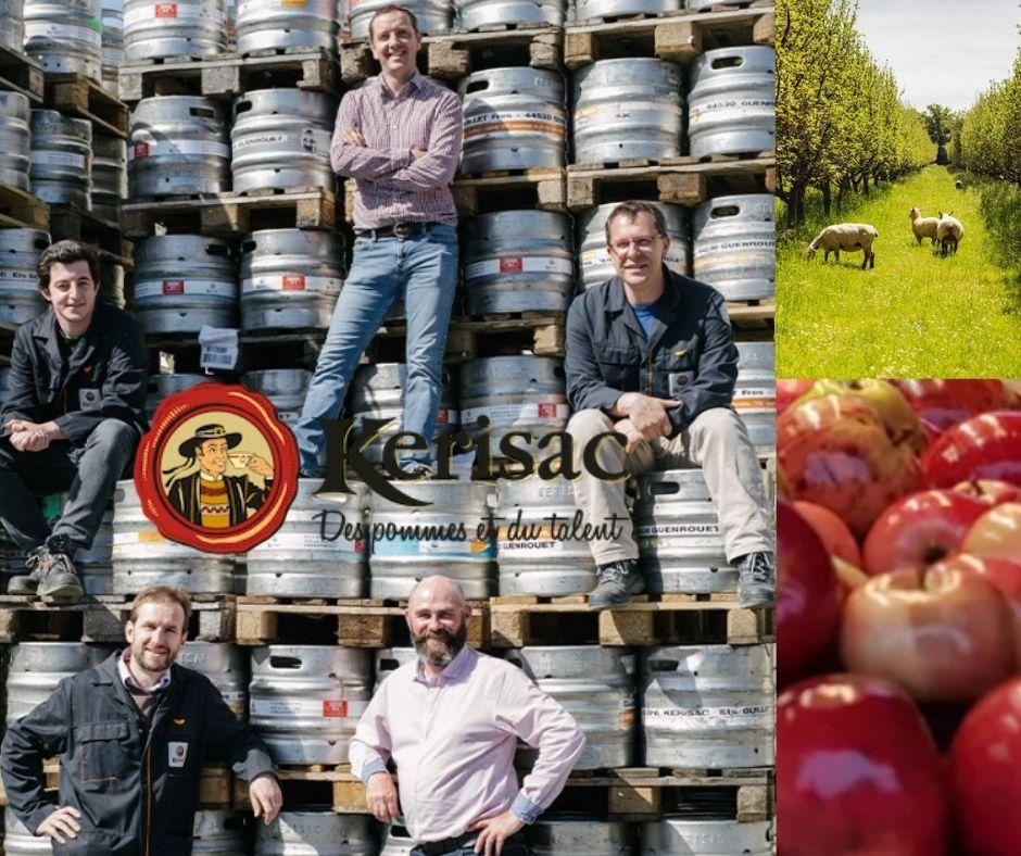 Kerisac, producteurs, pommes et pommiers