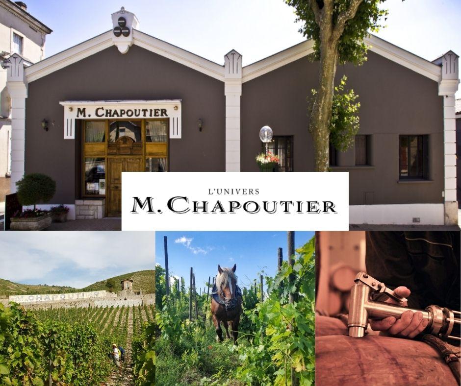 M. Chapoutier, vignobles, chai