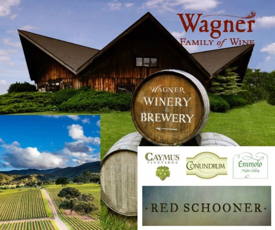 Wagner Family of Wine, chai, vignobles, marques