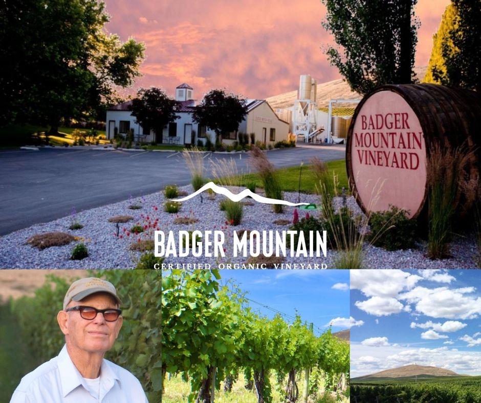 Badger Mountain Vineyard, Bill Powers, chai, vignobles