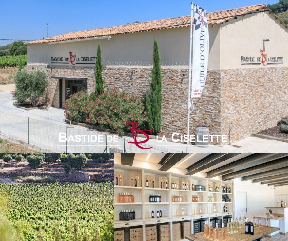 Bastide de la Ciselette, chai, vignoble