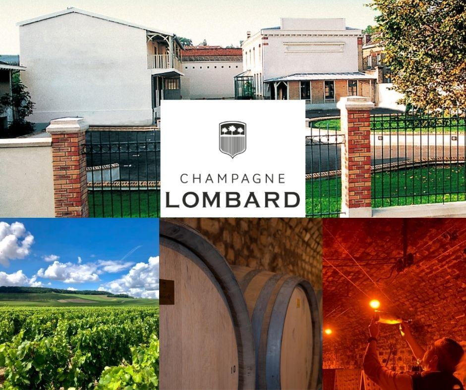 Champagne Lombard, chais, vignobles
