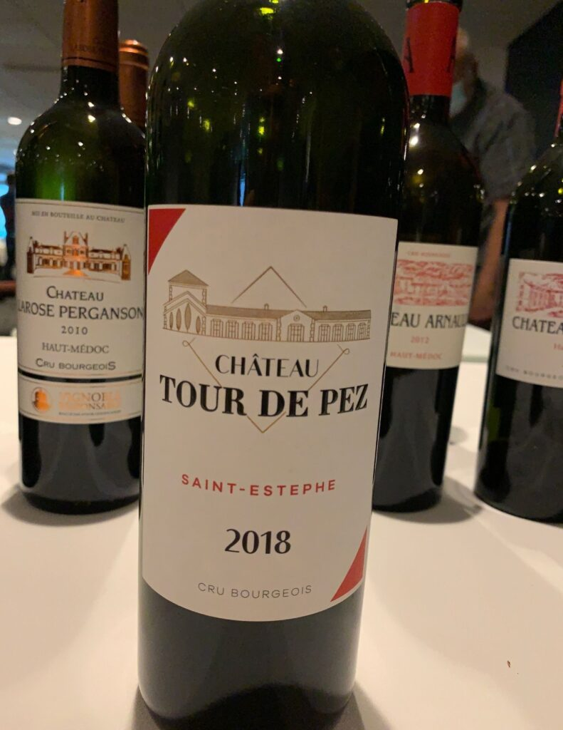 Bouteille de Château Tour de Pez, Cru Bourgeois, Bordeaux, Saint-Estèphe, 2018
