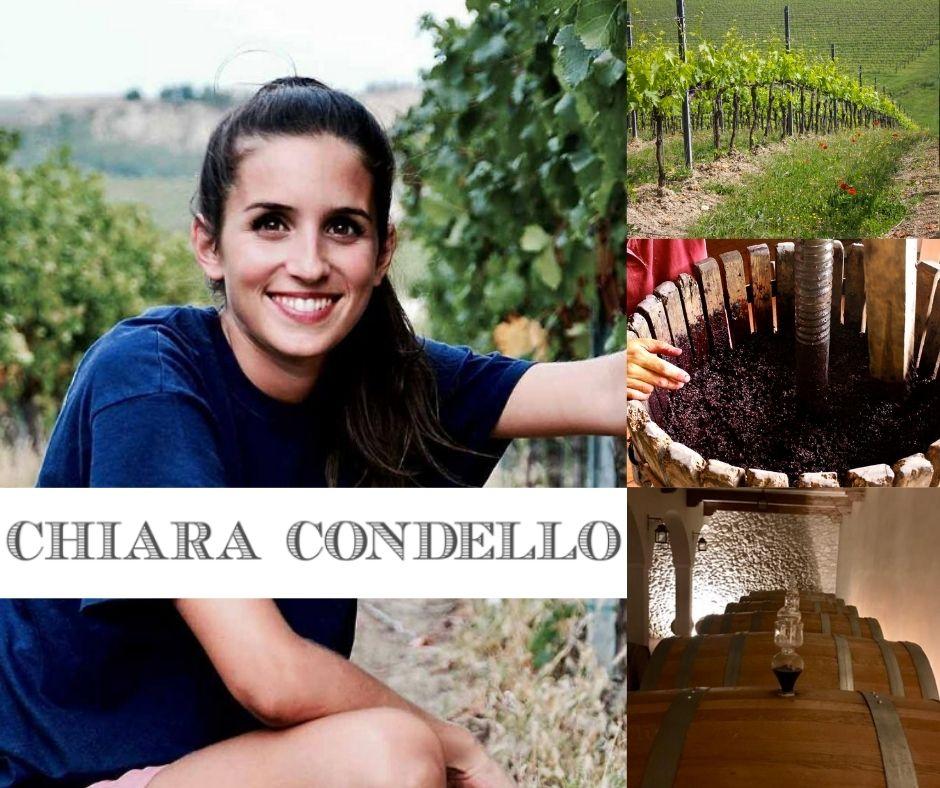 Chiara Condello, vignobles et chai