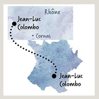 Carte viticole Jean Luc Colombo