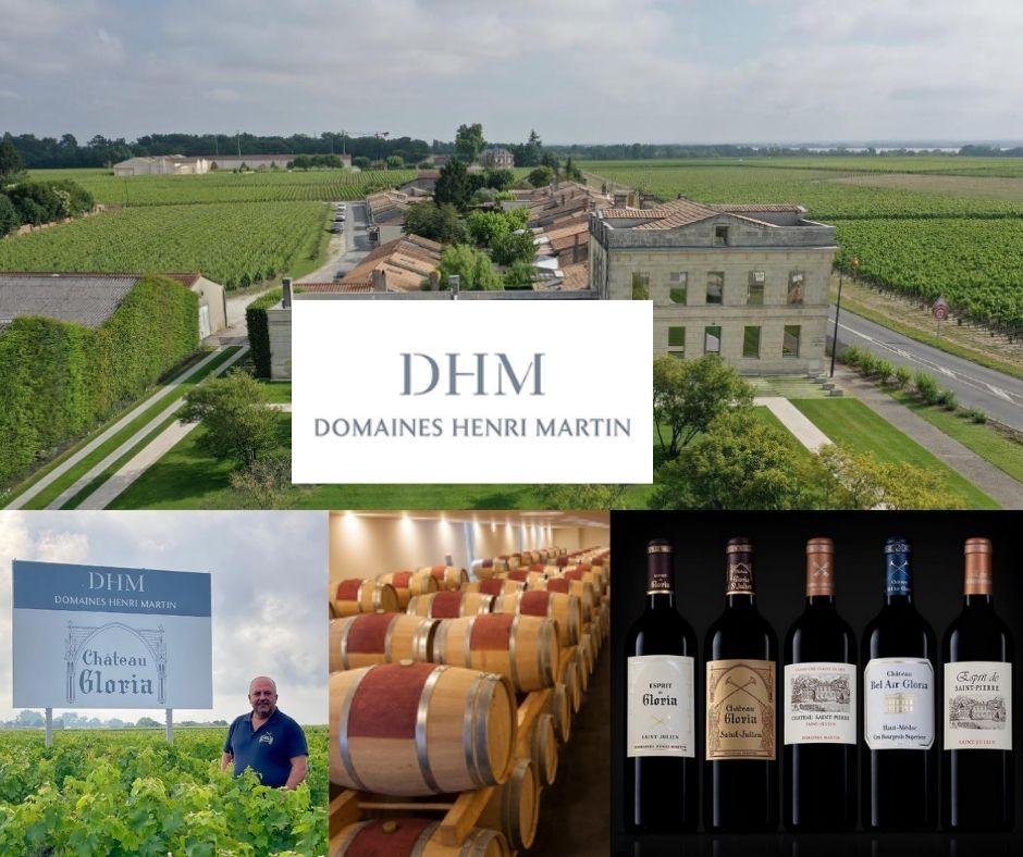 Domaines Martin, vignobles, vins, chai