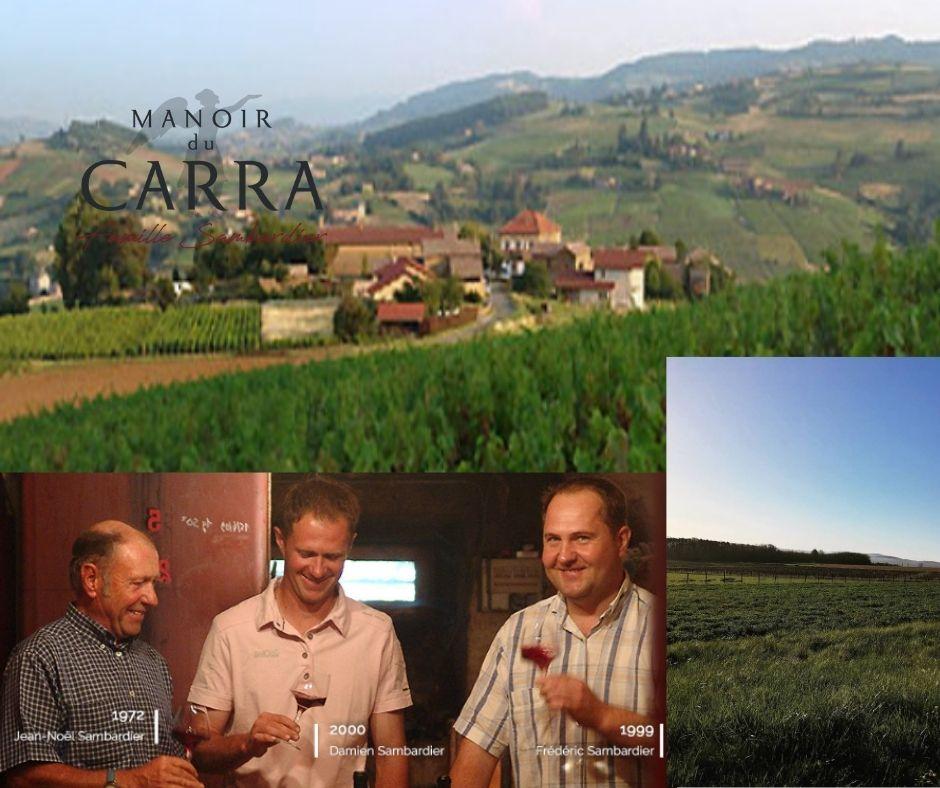 Manoir du Carra: chai, vignobles et famille Sambardier