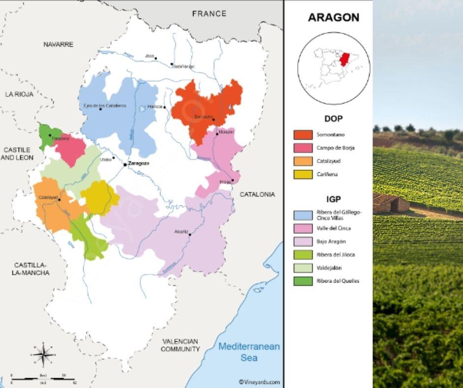 Carte viticole d'Aragon, Carinena