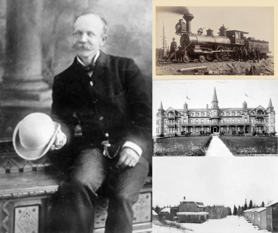 Horace Jansen Beemer, trains et propriétés
