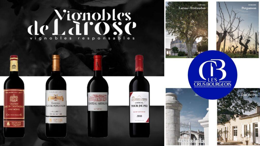 Vignobles de Larose vins et châteaux