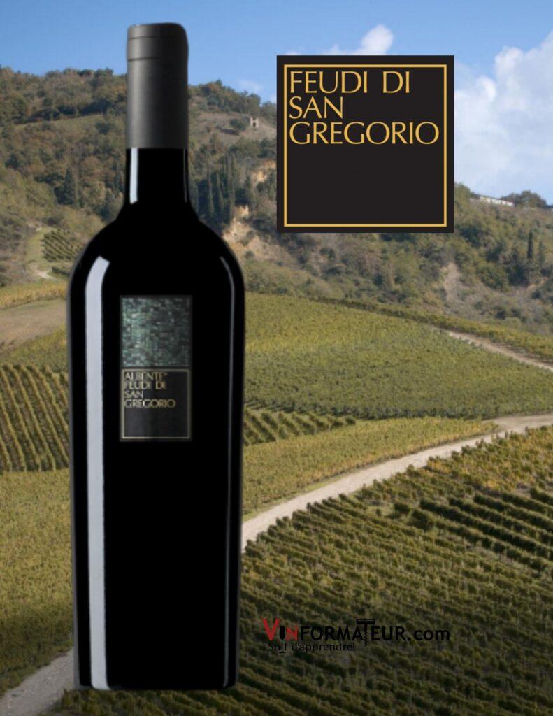 Bouteille de Albente, Feudi di San Gregorio, Italie, Vino de Tavola, vin blanc, 2019