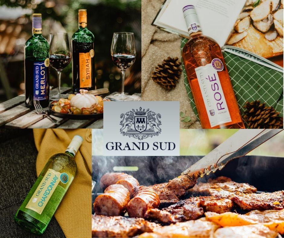 Grand Sud: bouteilles et grillades