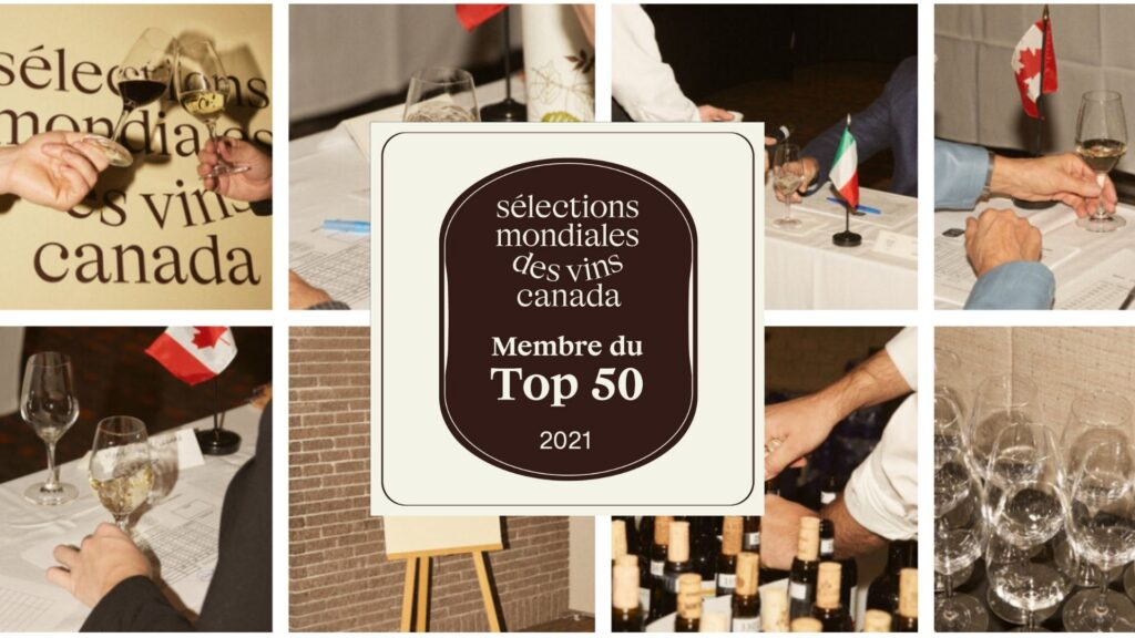 Top 50 vins de Sélections Mondiales des vins Canada 2021